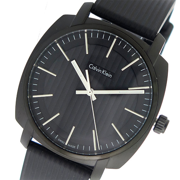 カルバンクライン Calvin Klein CK クオーツ メンズ 腕時計 時計 K5M314D1 ブラック/ブラック