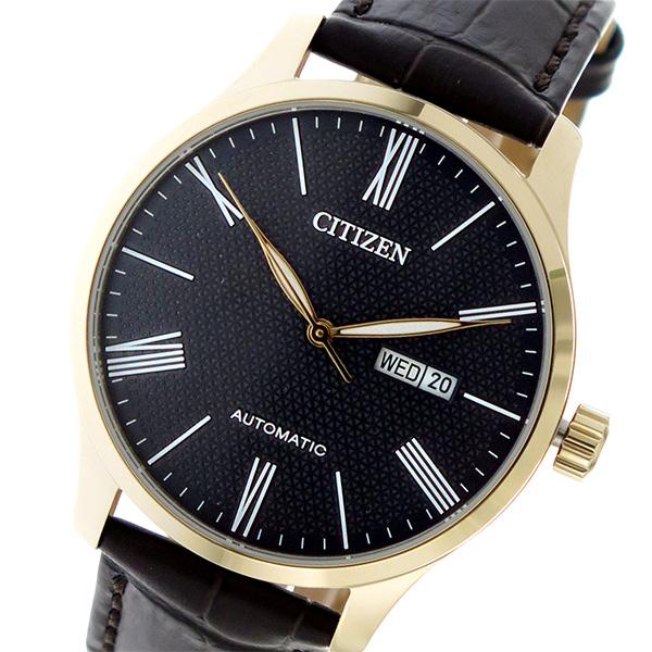 シチズン CITIZEN 自動巻き メンズ 腕時計 時計 NH8353-00H ブラック