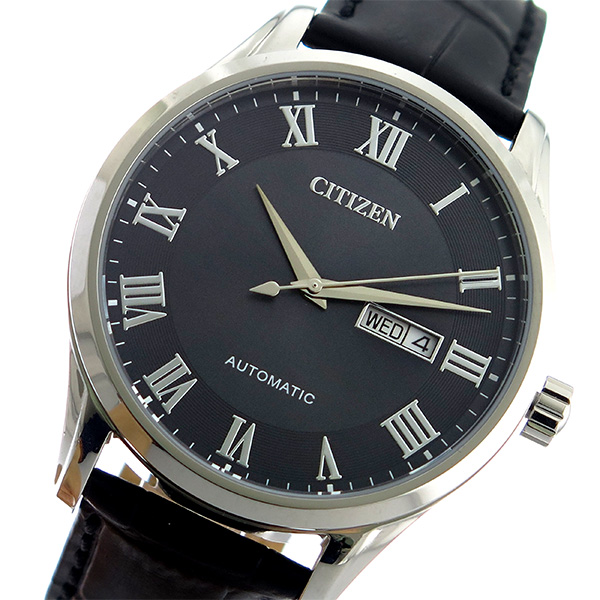 シチズン CITIZEN 自動巻き メンズ 腕時計 時計 NH8360-12H ブラック