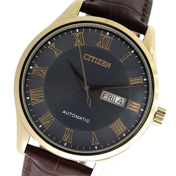 シチズン CITIZEN 自動巻き メンズ 腕時計 時計 NH8363-14H グレー