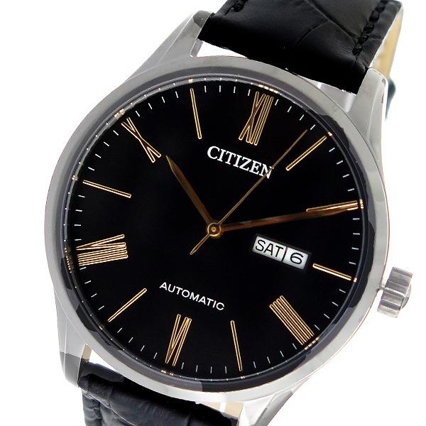 シチズン CITIZEN 自動巻き メンズ 腕時計 時計 NH8365-19F ブラック