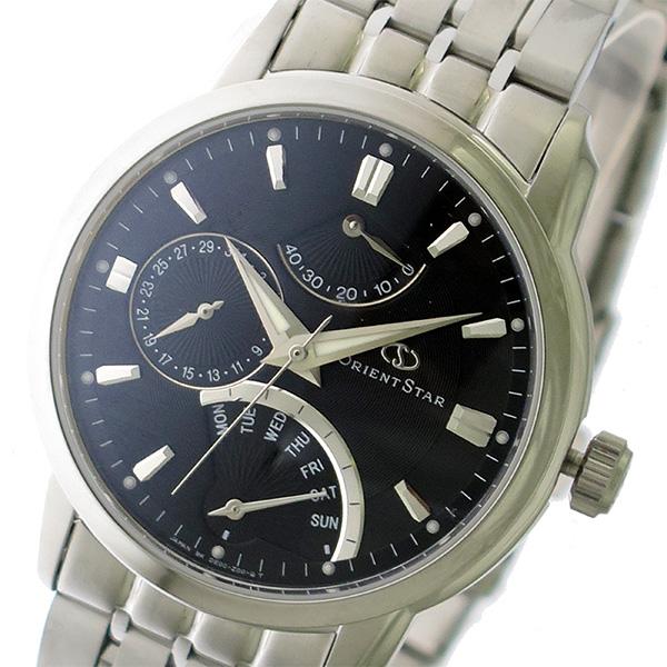 オリエント ORIENT オリエントスター Orient Star 自動巻き メンズ 腕時計 DE00002B0 ブラック/シルバー【送料無料】