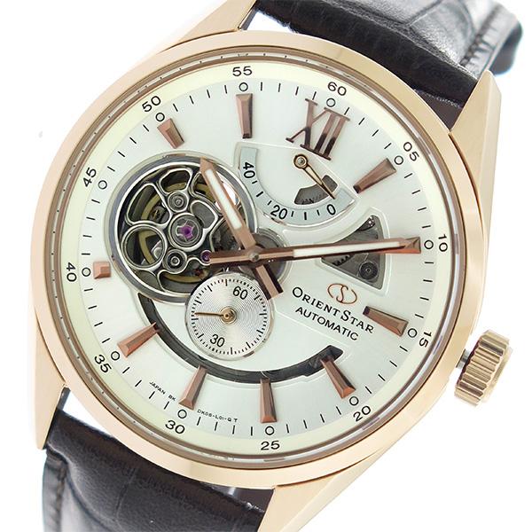 オリエント ORIENT オリエントスター Orient Star 自動巻き メンズ 腕時計 SDK05003W0 アイボリー/ブラウン【送料無料】