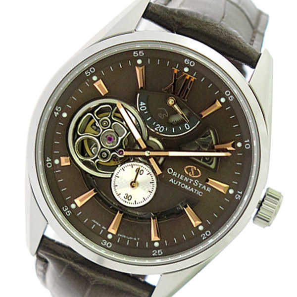 オリエント ORIENT オリエントスター Orient Star 自動巻き メンズ 腕時計 SDK05004K0 ブラウン/ブラウン【送料無料】