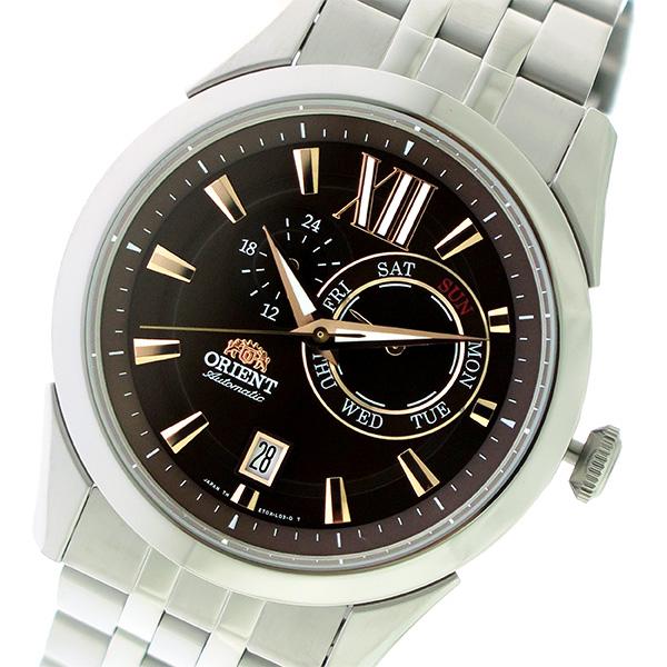 オリエント ORIENT 自動巻き メンズ 腕時計 時計 SET0X003T0-B ブラウン/シルバー
