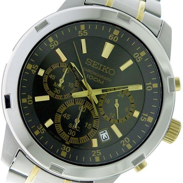 セイコー SEIKO クオーツ メンズ 腕時計 時計 SKS609P1 メタルグレー/シルバー×ゴールド