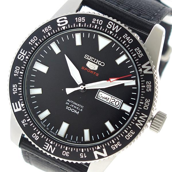 セイコー SEIKO セイコー5 自動巻き メンズ 腕時計 時計 SRP667J1 ブラック