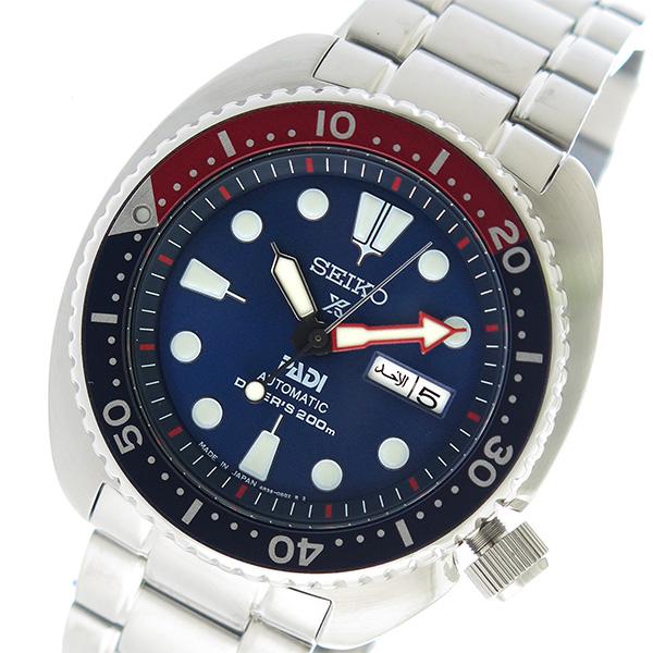 セイコー SEIKO プロスペックス PROSPEX 自動巻き メンズ 腕時計 SRPA21J1 ネイビー【送料無料】