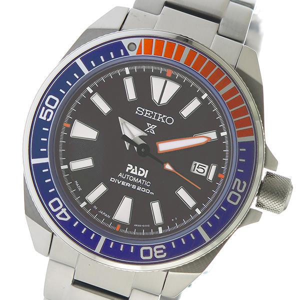 セイコー SEIKO プロスペックス 自動巻き メンズ 腕時計 SRPB99J1 ブラック【送料無料】【inte_D1806】