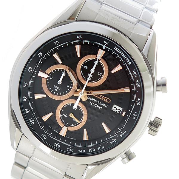 セイコー SEIKO クオーツ メンズ 腕時計 時計 SSB199P1 ブラック