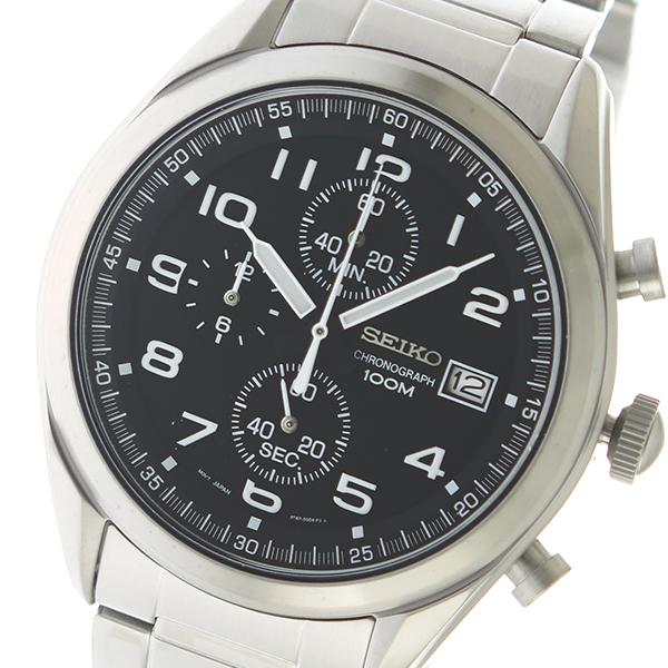 セイコー SEIKO クオーツ メンズ 腕時計 時計 SSB269P1 ブラック