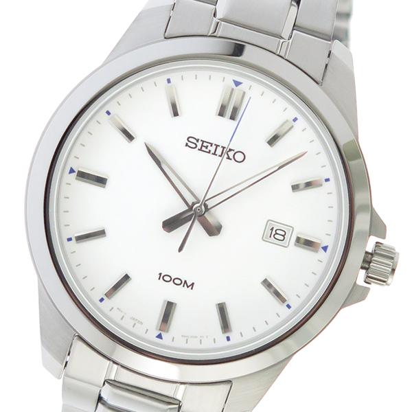 セイコー SEIKO クオーツ メンズ 腕時計 時計 SUR241P1 ホワイト