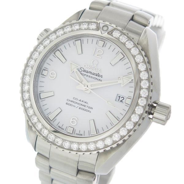 オメガ OMEGA シーマスター 自動巻き レディース 腕時計 232.15.42.21.04.001 ホワイト/シルバー【送料無料】【S1】