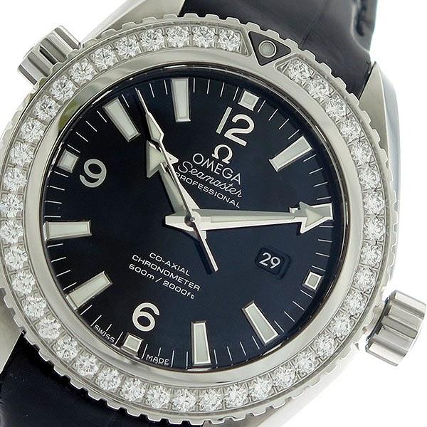 オメガ OMEGA シーマスター 自動巻き レディース 腕時計 232.18.38.20.01.001 ブラック/ブラック【送料無料】