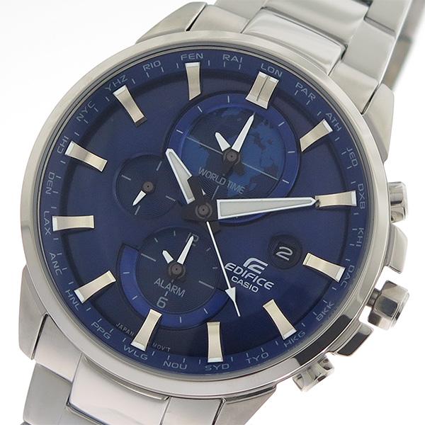 カシオ CASIO エディフィス EDIFICE クロノ クオーツ メンズ 腕時計 時計 ETD-310D-2A ブルー/シルバー
