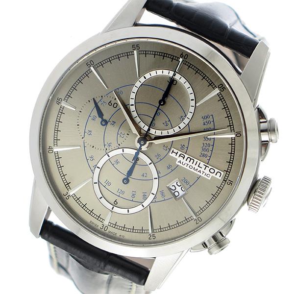 ハミルトン HAMILTON レイルロード 自動巻き 腕時計 H40656781 シルバー/ブラック【送料無料】