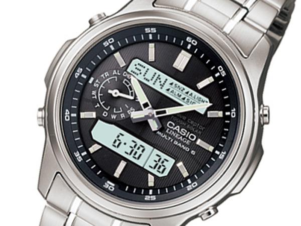 カシオ CASIO リニエージ 電波 ソーラー メンズ 腕時計 時計 LCW-M300D-1AJF 国内正規