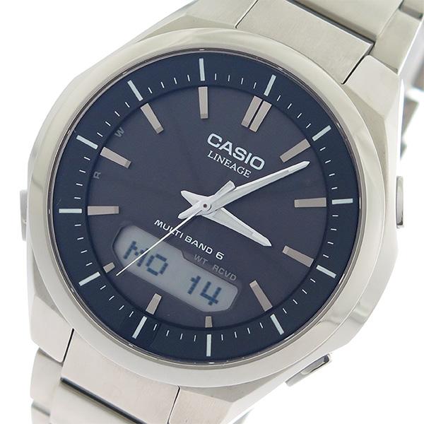 カシオ CASIO リニエージ LINEAGE タフソーラー クオーツ メンズ 腕時計 LCW-M500TD-1A ブラック/シルバー【送料無料】