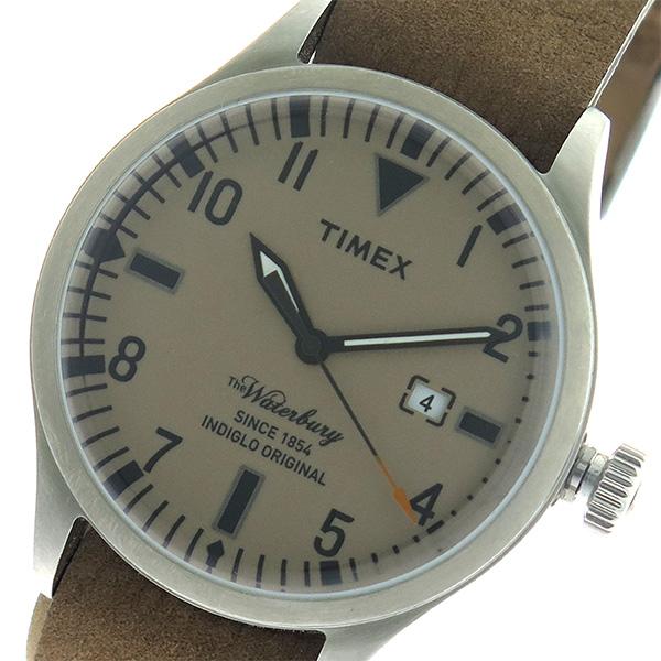 タイメックス TIMEX ウォーターベリー Waterbury クオーツ ユニセックス 腕時計 時計 TW2P64600 ブラウン/ブラウン