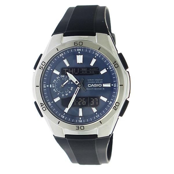 カシオ CASIO エディフィス EDIFICE クロノ クオーツ メンズ 腕時計 時計 WVA-M650-2AJF 国内正規【ポイント10倍】【楽ギフ_包装】