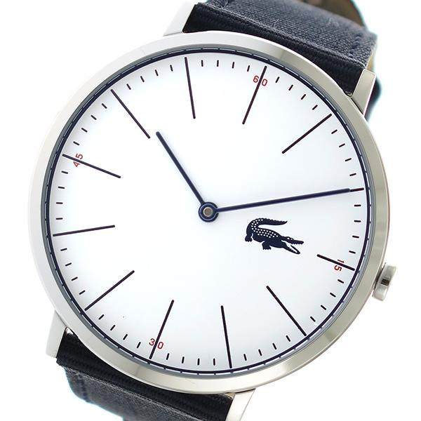 ラコステ LACOSTE クオーツ メンズ 腕時計 時計 2010914 ホワイト
