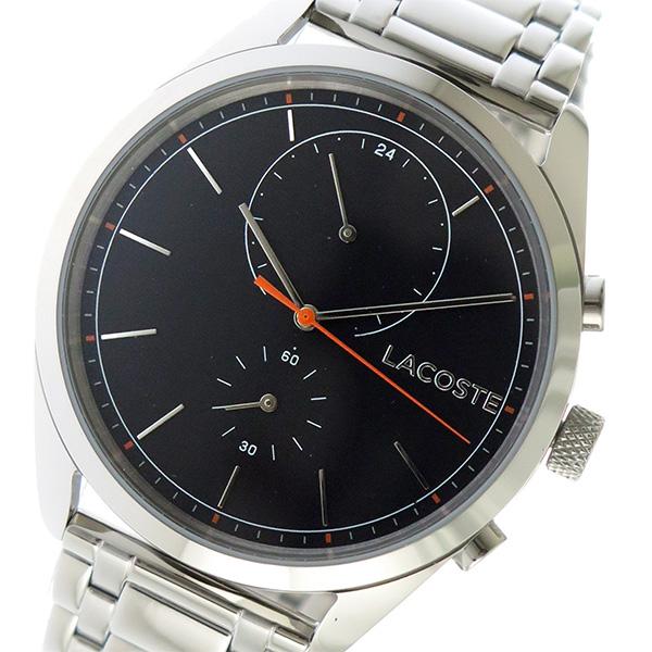 ラコステ LACOSTE クオーツ メンズ 腕時計 時計 2010918 ブラック