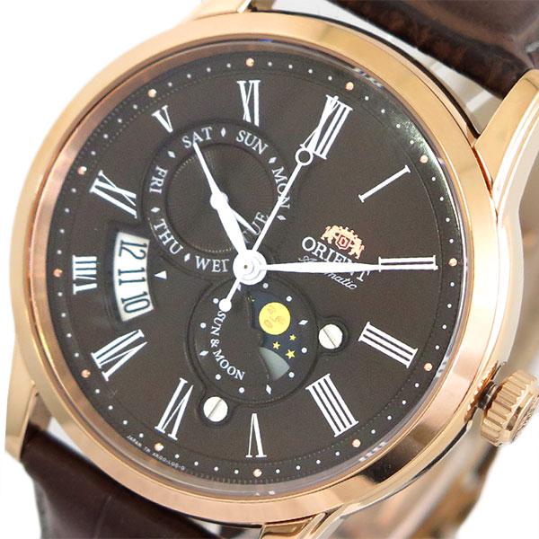 オリエント ORIENT 腕時計 時計 メンズ SAK00003T0-B (RN-AK0002Y) 自動巻き ダークブラウン ブラウン