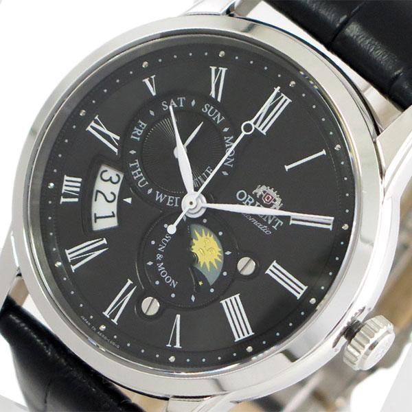 オリエント ORIENT 腕時計 時計 メンズ SAK00004B0-B (RN-AK0003B) 自動巻き ブラック