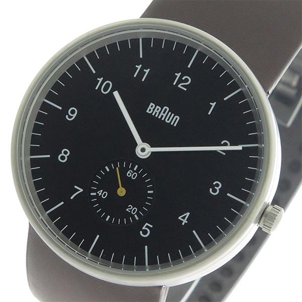 ブラウン BRAUN クオーツ メンズ 腕時計 時計 BN0024BKBRG ブラック/ブラウン