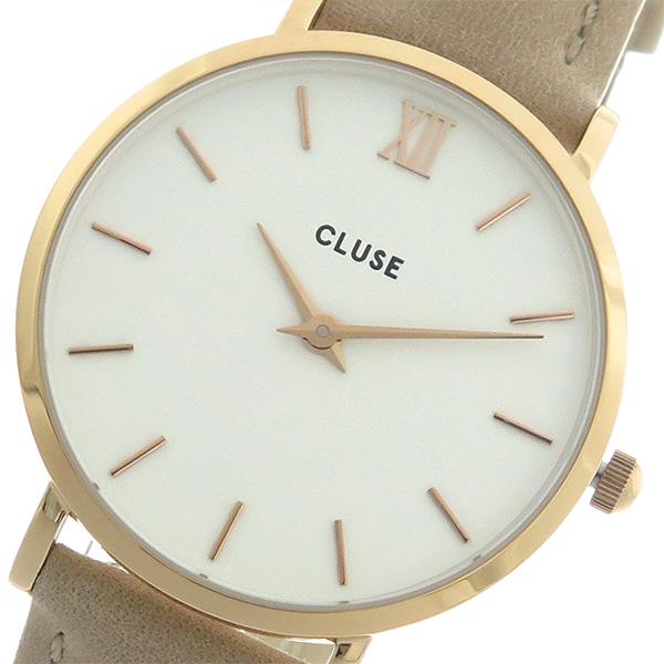 クルース CLUSE クオーツ レディース 腕時計 時計 CL30043 ホワイト/ヘーゼルナッツ