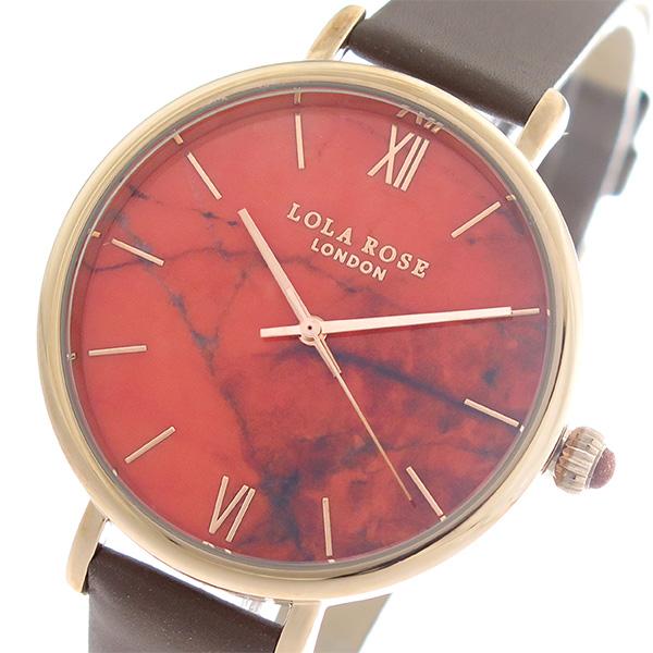 ローラローズ LOLA ROSE ファイヤーオレンジマグネサイト FireOrangeMagnesite クオーツ ユニセックス 腕時計 時計 LR2018 オレンジ/ブラウン