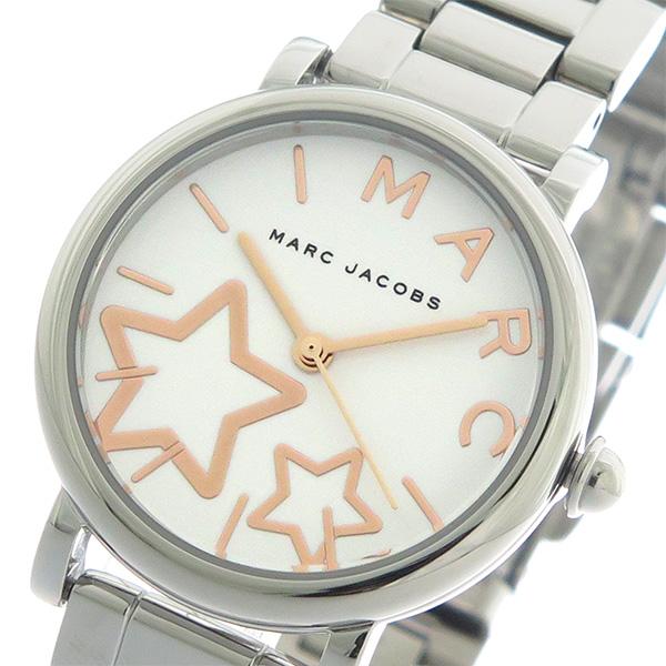 マークジェイコブス MARC JACOBS クオーツ レディース 腕時計 時計 MJ3591 ホワイト/シルバー