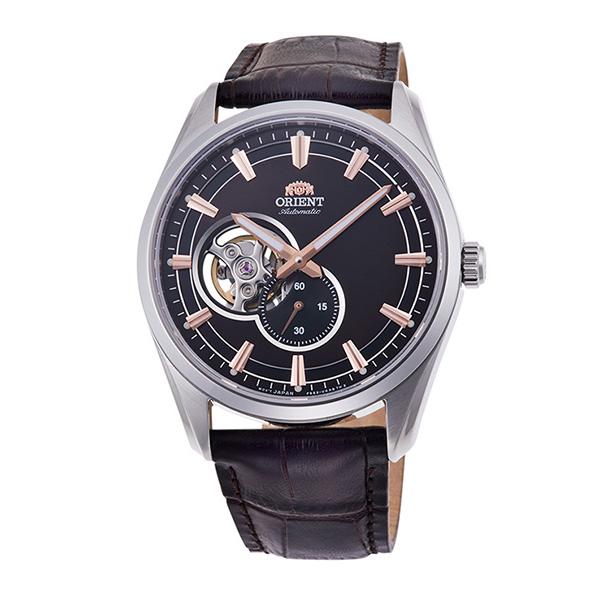 オリエント ORIENT CONTEMPORARY 自動巻き メンズ 腕時計 時計 RN-AR0004Y ブラック/ブラウン