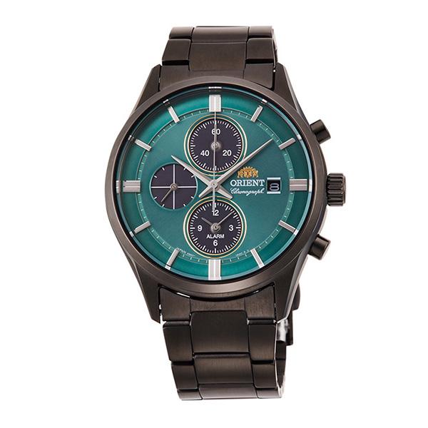 オリエント ORIENT CONTEMPORARY クオーツ メンズ 腕時計 時計 RN-TY0001E ターコイズグリーン/ブラック