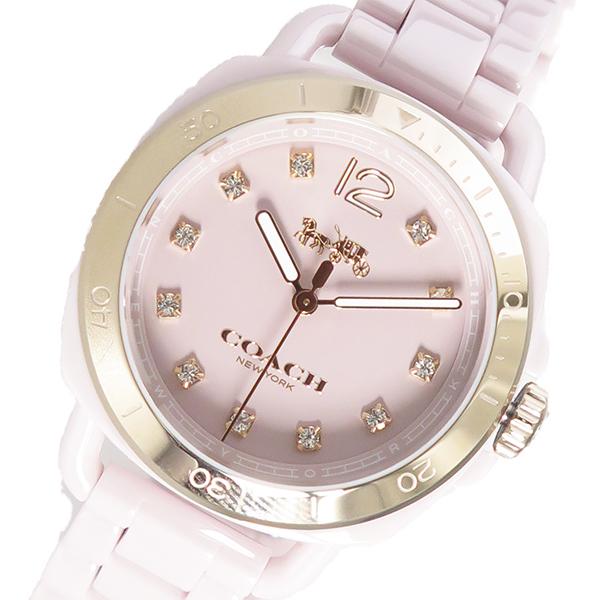 コーチ COACH テイタム TATUM クオーツ レディース 腕時計 時計 14502754 ピンク