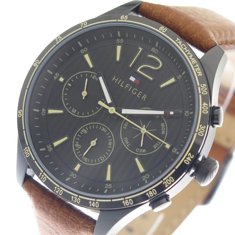 トミーヒルフィガー TOMMY HILFIGER 腕時計 時計 メンズ 1791470 ブラック ブラウン