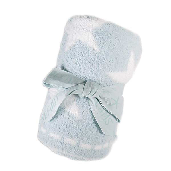 ベアフットドリームズ BAREFOOT DREAMS ブランケット ひざ掛け レディース 531-AQUAICE-WHITE COZYCHIC アクア ホワイト