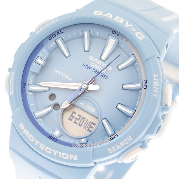 カシオ CASIO ベビーG BABY-G 腕時計 時計 レディース クオーツ BGS-100RT-2ADR ブルー