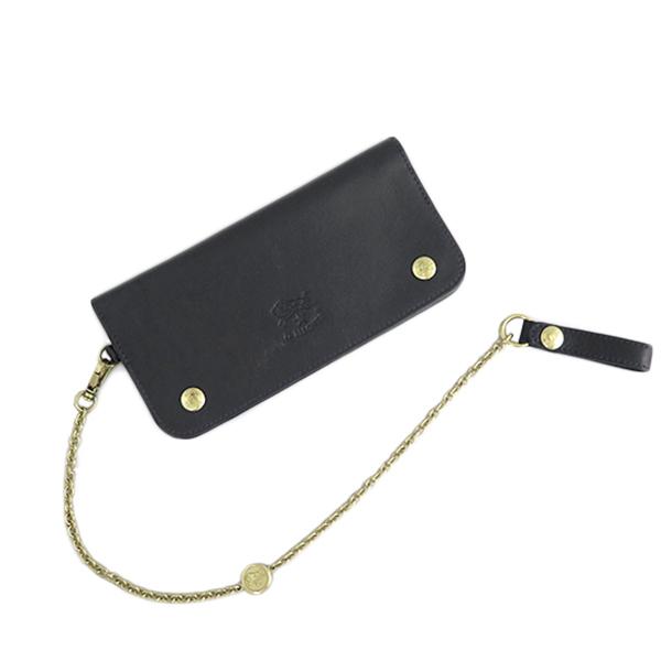 イルビゾンテ ILBISONTE 長財布 メンズ レディース C0486P-153 ブラック