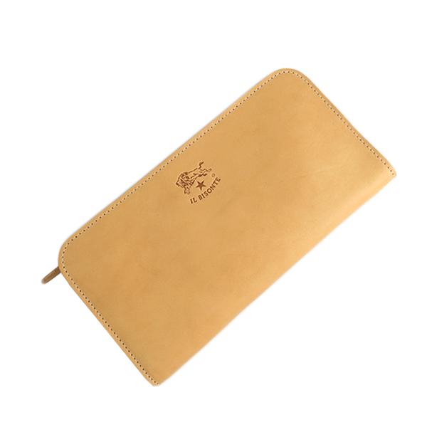 イルビゾンテ ILBISONTE 長財布 メンズ レディース C0909P-120 ナチュラル
