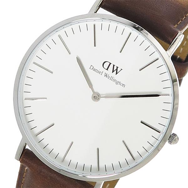 ダニエル ウェリントン クオーツ メンズ 腕時計 時計 DW00100110 ホワイト