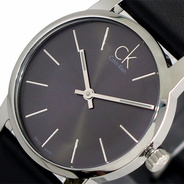 カルバンクライン CALVIN KLEIN 腕時計 時計 レディース K2G23107 シティー CITY クォーツ メタルブラック ブラック