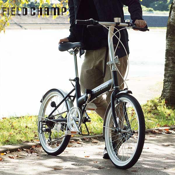 フィールドキャンプ FIELD CHAMP 自転車 MG-FCP206 ブラック 代引き不可