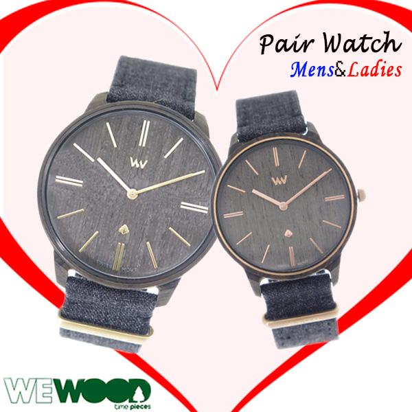 ペアウォッチ ウィーウッド WEWOOD DELLIUM 腕時計 時計 9818190 9818188 クォーツ