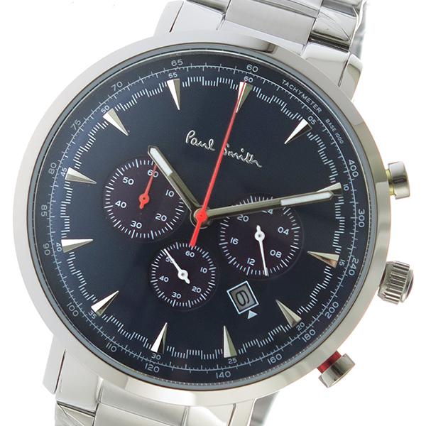 ポールスミス PAUL SMITH クオーツ メンズ 腕時計 時計 PS0070012 ネイビー