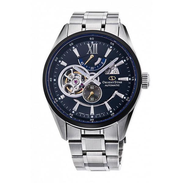 オリエントスター ORIENT STAR MODERN SKELETON 自動巻き メンズ 腕時計 RK-DK0003B ネイビー/シルバー【送料無料】