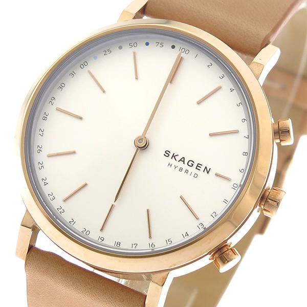 スカーゲン SKAGEN スマートウォッチ 腕時計 時計 メンズ レディース SKT1204 CONNECTED ホワイト ブラウン