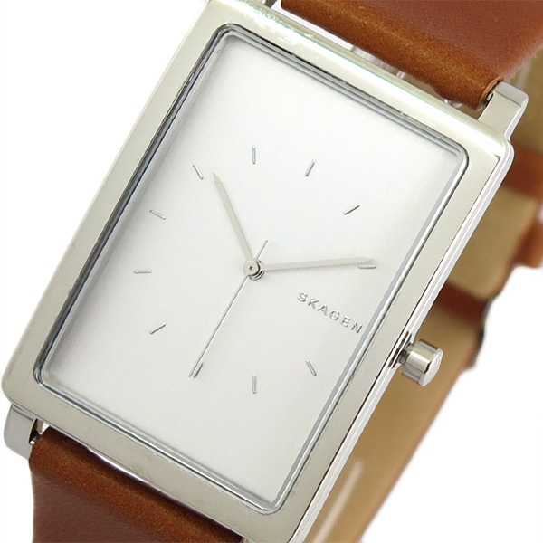 スカーゲン SKAGEN 腕時計 時計 メンズ SKW6289 クォーツ シルバー ブラウン