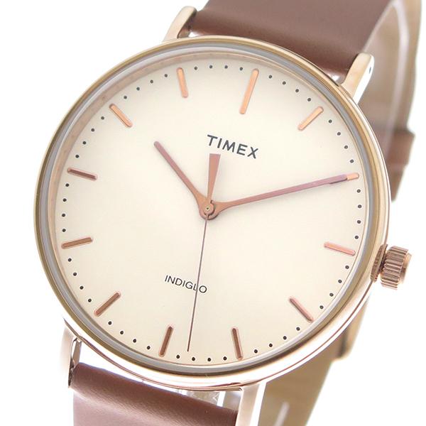 タイメックス TIMEX 腕時計 時計 メンズ TW2R26200 クォーツ オフホワイト キャメル