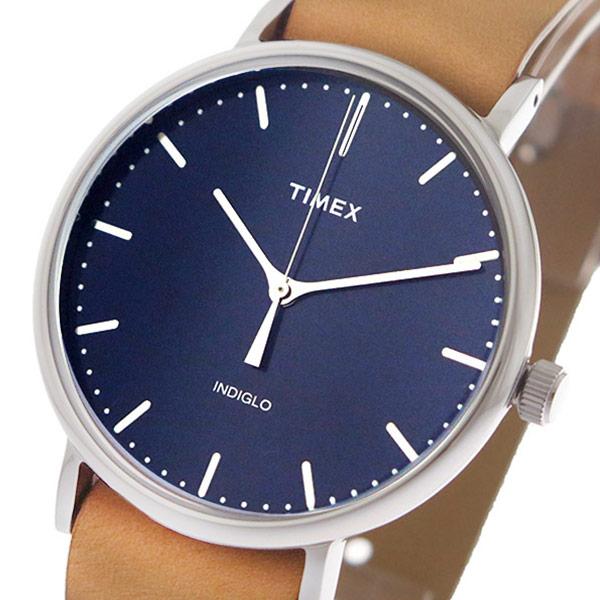 タイメックス TIMEX 腕時計 時計 メンズ TWG016300 クォーツ ネイビー キャメル